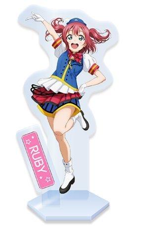 Love Live! Sunshine!! ''Hanamaru-chan'' Selected as SEGA Staff Image Girl Campaign Happy Party Train ver. Acrylic Stand Ruby Kurosawa by Sega