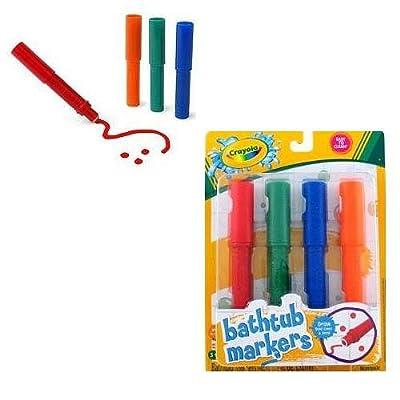 Crayola Bathtub Markers: Toys & Games