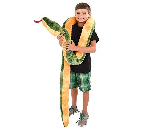 (Rhode Island Novelty Giant Anaconda Snake Plush Toy 100