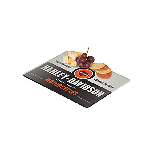 Harley-Davidson Forged in Iron Mini Cutting Board, 10 x 8 inches HDL-18576
