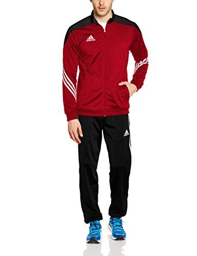 adidas Herren Trainingsanzug Sereno 14 PES, power rot/schwarz/weiß, L, D82934
