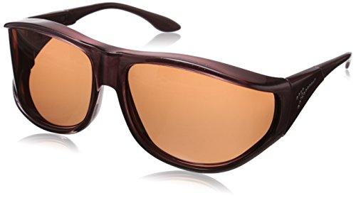 Vistana Polarized Jeweled Fitover Med-Small Sunglasses