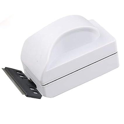 Limpiador Magnético para Acuario, Acuario De Vidrio Y Acrílico Depurador De Algas con Rasquetas De