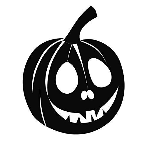 wygajdie Etiqueta engomada de la pared del arte del vinilo removible del vinilo de la calabaza de Halloween de Los niños 36X44Cm -