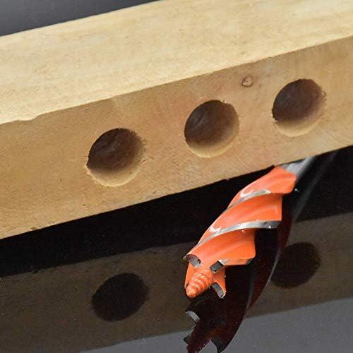 YYONGAO Drill Bit 8Pcs 10-25Mm Twist Drill Bit Set Four Edges Four Slot Carpenter Tools High Carbon Steel Drill Bit for Woodworking Drilling