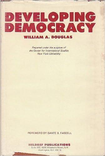"""Risultati immagini per """"William A. Douglas"""" """"developing democracy"""""""