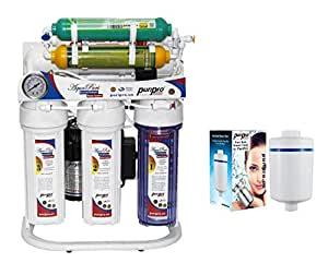 7 Stage Water Filter With Storage Tank High Quality Tap And Accessories With Free Pure Bath Shower Filter By PuriPro