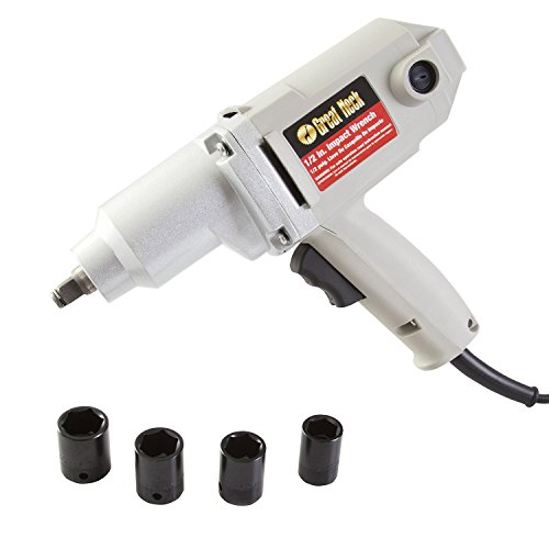 Great Neck 80128 Heavy Duty 1/2 Inch Drive Corded Impact Wrench