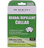 """Herbal Repellent Collar For Dogs & Puppies - No Harsh Ingredients - Repels Fleas, Ticks, Mosquitoes - Dr. Mercola Healthy Pets - 1 Collar (Effective Up To 4 Months) (Large Dogs (Necks up to 27""""))"""