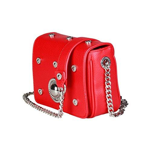 Versace Jeans E1VQBBR3_75429 Pochette Donna Pelle Nero
