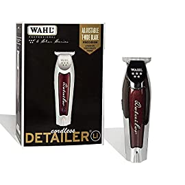 wahl professional - 41Vliaqt6SL - Wahl Professional 5-Star Series Lithium-Ion Cord/Cordless Detailer Li #8171 Ultra Close Trim from the Line Loved by Barbers- 100 Minute Run Time