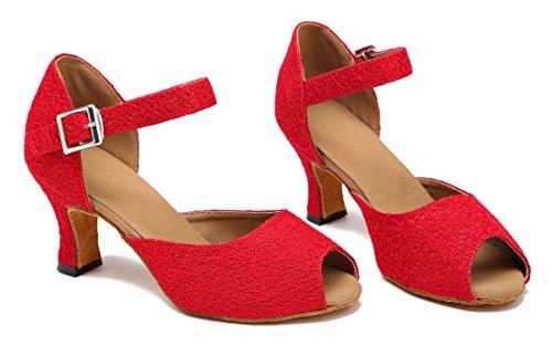 TDA - salón mujer 7cm Red