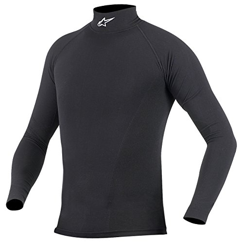 Alpinestars Summer Tech Performance Long Sleeve Top (Black, X-Large/XX-Large)