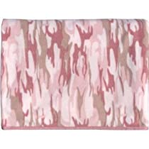 Baby Pink Camo Fleece Blanket