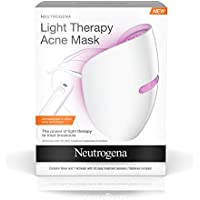Neutrogena Light Therapy Acne Treatment Face Mask with Clinically Proven Blue & Red Acne Light Technology