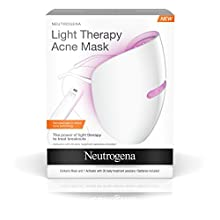 With dermatologist in-office acne technology, the Neutrogena Light Therapy Acne Face Mask is a revolution in acne treatment. This face mask harnesses the power of clinically proven light technology to clear acne and allow skin to heal itself....