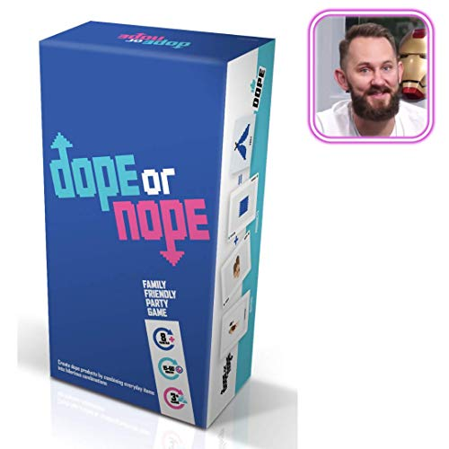 Wilder Games Dope or Nope – Family Friendly Party Game – Create Dope Products by Combining Everyday Items Into Hilarious…
