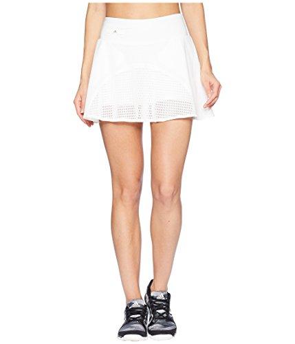 adidas Women's Stella McCartney Q3 Skirt White Medium