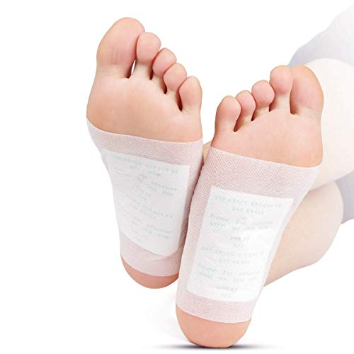 Foot Pads - (100pcs) Natural Cleansing Foot Pads for Foot Care, Sleeping & Anti-Stress Relief, No Stress Package - 100 Packs