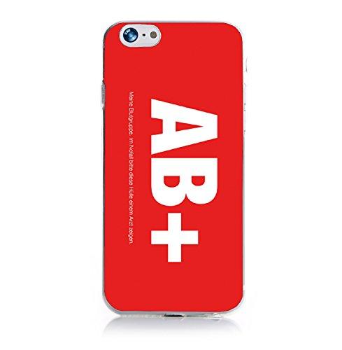 ArktisPRO sang Groupe 0+ étui pour Apple iPhone 6Rouge
