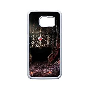 Generic for Samsung Galaxy S6 Edge Cell Phone Case White Dark Souls Custom HSOFHFHOJ2056