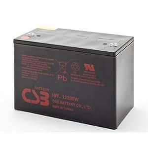 csb battery hrl12330wfr csb 12vdc 83 ah. Black Bedroom Furniture Sets. Home Design Ideas