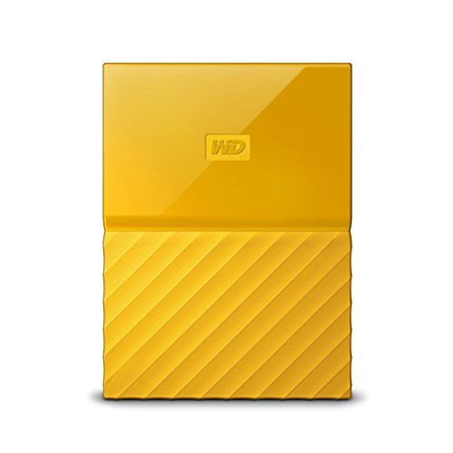 WD 2TB Yellow My Passport  Portable External Hard Drive - USB 3.0 - WDBYFT0020BYL-WESN (Certified Refurbished) -