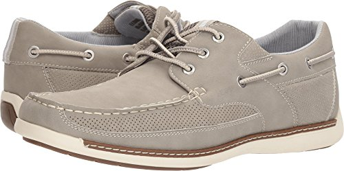 Shoes Izod (IZOD Men's Harding Boat Shoe, Grey, M110 M US)