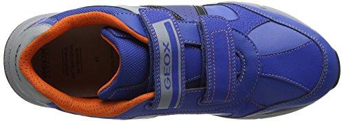 Geox Unisex-volwassenen J Top Vliegjongen B Sneaker Blau (koninklijke)