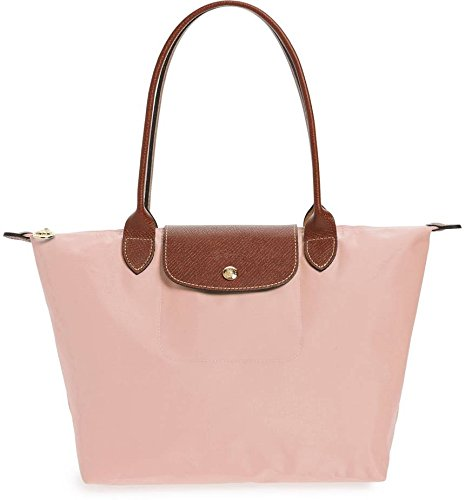 Longchamp Medium 'Le Pliage' Tote Shoulder Bag, Pink