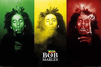 61x91,5cm Papier Glac/é 150g Multicolore Pyramid International Poster Bob Marley Legend