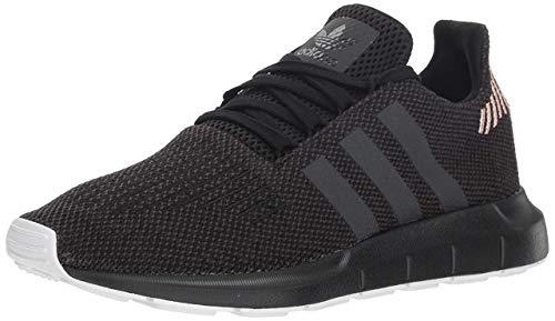 adidas Originals Women's Swift Running Shoe, Black/Carbon/White, 10 M US