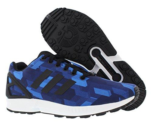 Adidas Zx Flux Print Kører Herresko Størrelse Blå / Sort 9x9oJ74fS