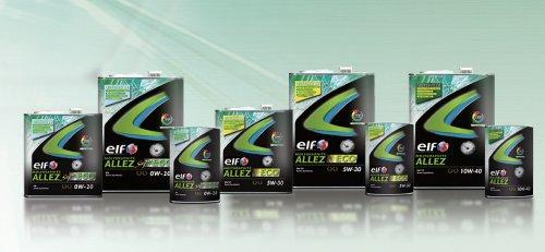 elf/エルフ エンジンオイル ALLEZ/アレ ECO 5W30/5W-30 3Lx6本 B00K72BO06