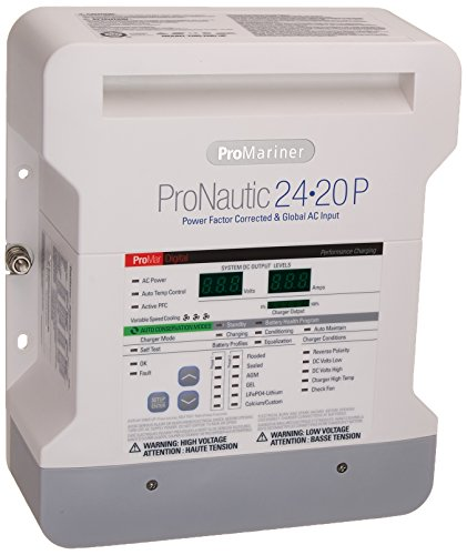 ProMariner 63170 ProNauticP Series 2420P - 24 Volt, 20 Amp Battery Charger