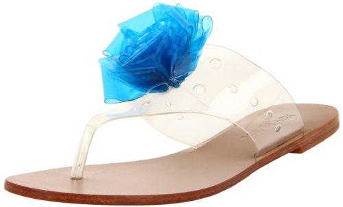 Alle Zwarte Dames Power Power String Sandaal Blauw