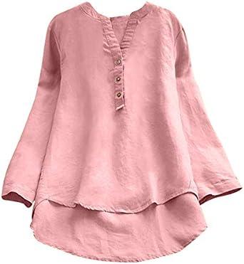 Camisetas Mujer Manga Corta Hipster Camisetas Mujer Verano Blusa Mujer Sport Tops Mujer Verano Camisetas Casual Escote Mujer Camisetas Mujer Camiseta Tallas Grandes Mujer Tops: Amazon.es: Ropa y accesorios