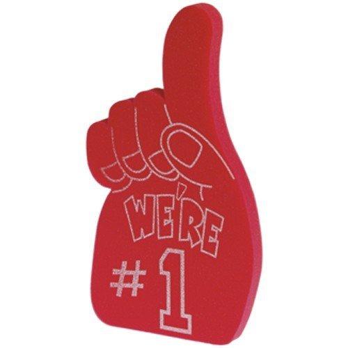 1 Foam Fingers (US Toy Foam Number 1 Hands Novelty,)