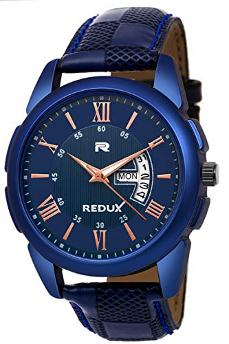 a94e34e15 Buy Redux Analogue Blue Dial Men s   Boy s Watch RWS0216S Online at Low  Prices in India - Amazon.in