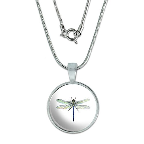 Dragonfly Pendant Sterling Silver Plated