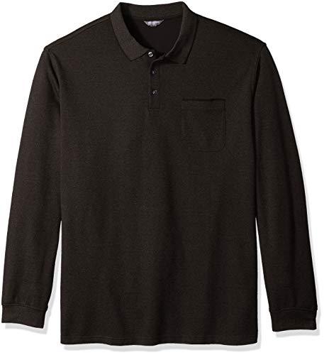 - Van Heusen Men's Size Big and Tall Flex Jaspe Polo Shirt, Brown Morel, Large Tall