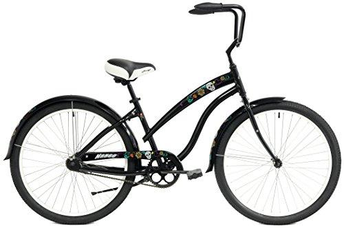 Mango Parrot Aluminum Beach Custom Cruiser One Speed Bicycle Bike Sugar Skulls (Sugar Skulls Black)