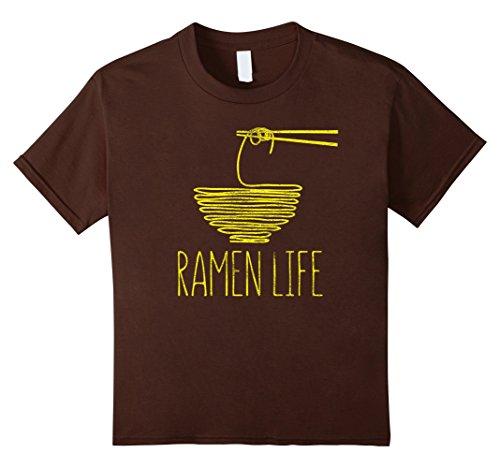 Kids Ramen Life T-Shirt: Otaku, Anime and Noodles. Ramen Life 12 (Ramen Noodle Costume)