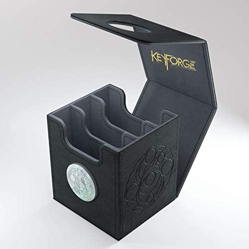 Keyforge Vault KeyForge Logo Deck Protector Sleeves GameGenic KeyForge Bundle Black