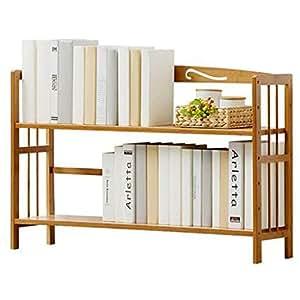 AINIYF Estantería de 2 estantes Estantería compacta de usos ...