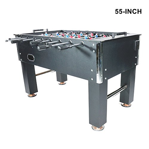 Line Hockey Bearings - Pinty Foosball Table 48''/50''/55''/72''/84'' Competition Sized Soccer Game Table/Hockey Table for Family Use Game Room (55