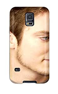 Fashion Protective Men Male Celebrity Elijah Wood0879 YY-ONE For Galaxy S5
