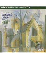 Bach, J.S.: Piano Transcriptions Vol.5