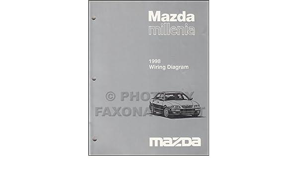 1998 mazda millenia wiring diagram manual original: mazda: amazon com: books