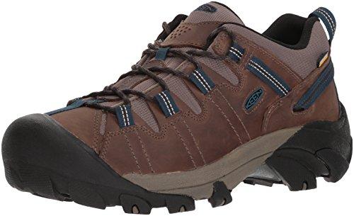 KEEN Men's Targhee II WP-M Hiking Shoe, Bungee Cord/Legion Blue, 12 M ()